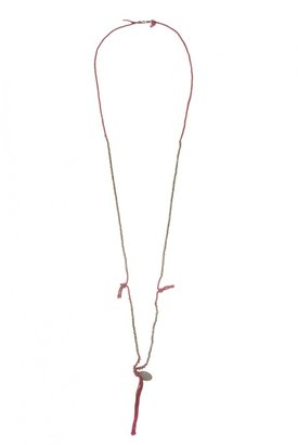 Chan Luu Gold Nugged Necklace