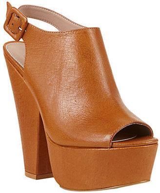 Steve Madden Gabby Faux Leather High-Heel Sandals