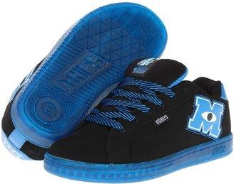 Etnies Disney Monsters Fader (Toddler/Little Kid/Big Kid) (Black/Blue) - Footwear