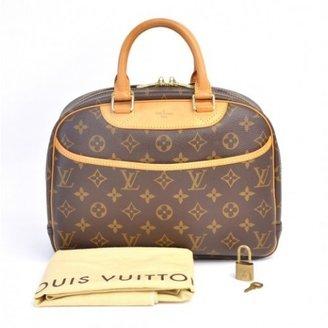 Louis Vuitton excellent (EX Trouville Brown Monogram Canvas Hand Bag