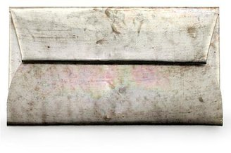 Martin Margiela Maison Metallic Envelope Clutch
