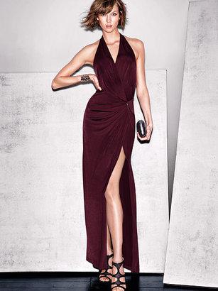 Victoria's Secret High-slit Maxi Dress