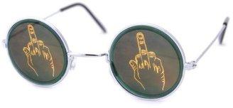 Vintage Sunglasses Smash KOOKS 3D Hologram Sunglasses W/ Finger Lens