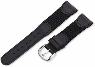 Hadley Roma Hadley-Roma 20mm 'Men's' Leather Watch Strap