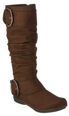 Merona Women's Macha Flat Boot - Brown