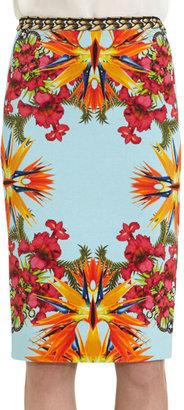 Givenchy Flower Skirt