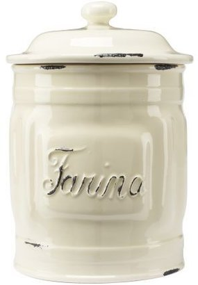 Sur La Table Italian Ceramic Flour Canisters