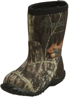 Bogs Classic Mid Mossy Oak Waterproof Insulated Boot (Toddler/Little Kid/Big Kid) Black 8 M US Toddler