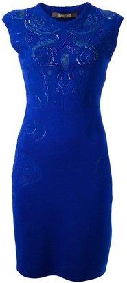 Roberto Cavalli embellished sleeveless dress