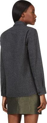 Isabel Marant Grey Wool Nam Shirt