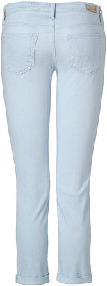 Adriano Goldschmied Light Blue Washed The Stilt Roll-Up Jeans