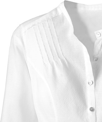 Coldwater Creek 3/4 Sleeve Textured Shirt