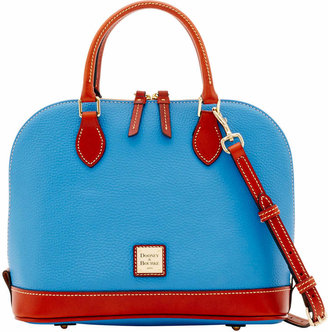 Dooney & Bourke Pebble Grain Zip Zip Satchel