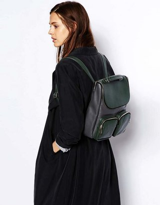 Asos Contrast Boysy Backpack