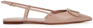 Valentino Garavani VLogo Leather Flats
