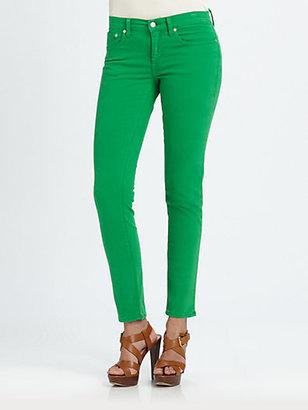 Ralph Lauren Blue Label Twill Skinny Jeans