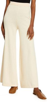 STAUD Mitchell Wide-Leg Wool-Blend Pants