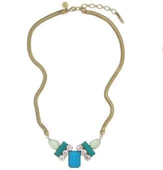 Loren Hope Petra Tri-Color Necklace, Teal