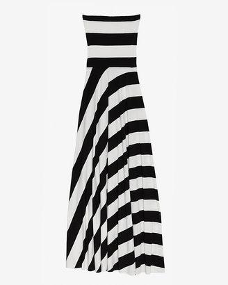 Nadia Tarr Exclusive Striped Jersey Dress/skirt