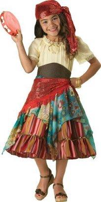Incharacter Costumes, LLC Big Girls' Fortune Teller Dress Set