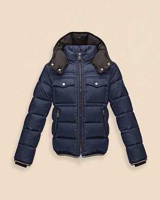 Moncler Boys' Thomas Matte Puffer Coat - Sizes 8-14