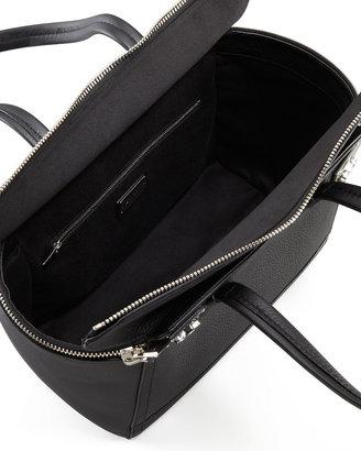 Salvatore Ferragamo Verve Zip Tote Bag, Black