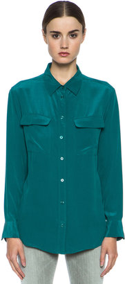 Equipment Signature Button Up in Storm
