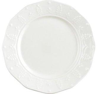 Paula Deen Set of 4 Whitaker Salad Plates, Vanilla