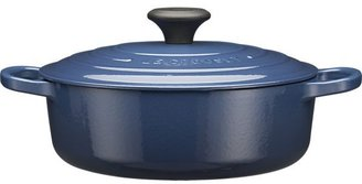 Le Creuset Wide Round Ink French Oven with Lid