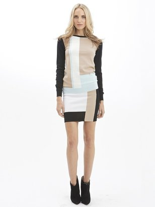 Torn By Ronny Kobo Avery Colorblock Sweater