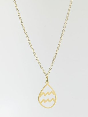Kris Nations Aquarius Signs of the Zodiac Charm Necklace