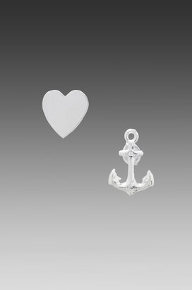 Bing Bang Tattoo Love Duet Stud