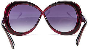 *MKL Accessories The Bonnet Sunglasses in Purple Floral