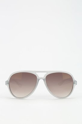 UO Plastic Aviator Sunglasses