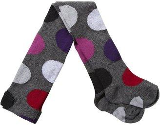 Jefferies Socks Mega Dot Tights