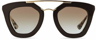 Prada Cat Eye Sunglasses, 49mm $390 thestylecure.com