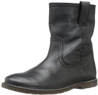 Frye Women's Celia X Stitch Short Boot,Black,7.5 M US