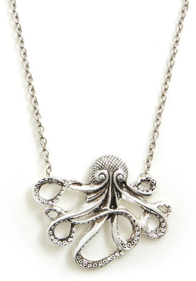 Octopus My Pet Necklace