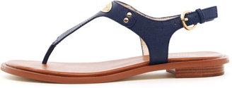 MICHAEL Michael Kors Flat T-Strap Thong Sandal