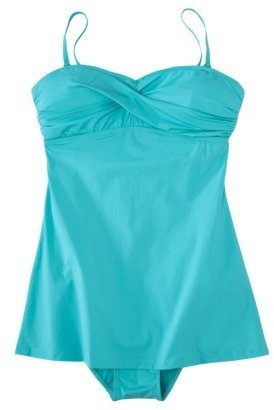 Sara Blakely ASSETS® by Women's 1-Piece Swim Dress -Teal