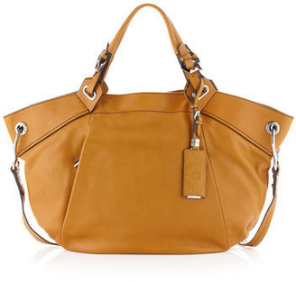 Oryany Holly Large Satchel, Gold