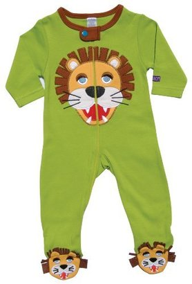 Sozo Baby-Boys Infant Jungle Footed Romper