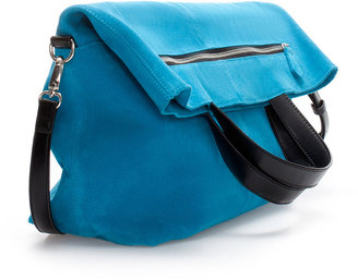 Zara Suede Shopper Bag