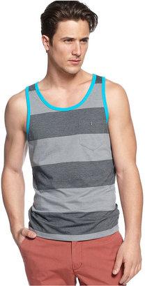 INC International Concepts Shirt, Cherokee Stripe Tank Top