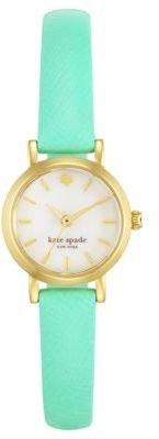 Kate Spade Ladies' Bud Green Metro Watch
