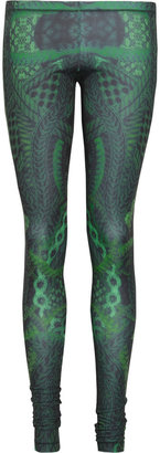 McQ Printed sateen leggings
