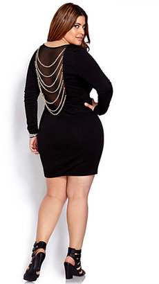 Forever 21 FOREVER 21+ Underground Chained Dress