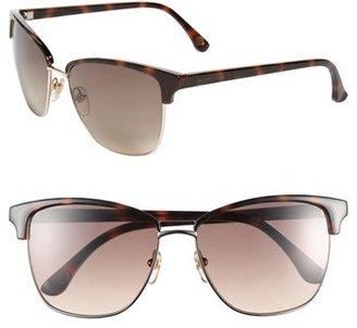 MICHAEL Michael Kors 'Ruth' 57mm Retro Sunglasses