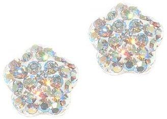 JCPenney Sterling Silver Flower Stud Earrings