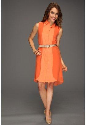 Kenneth Cole New York - Janine Dress (Ripe Peach/Tiger Lily) - Apparel